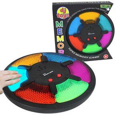 משחק זיכרון אורות 6 צבעים