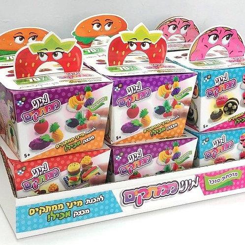 מיני ממתקים מארז בצק אכיל