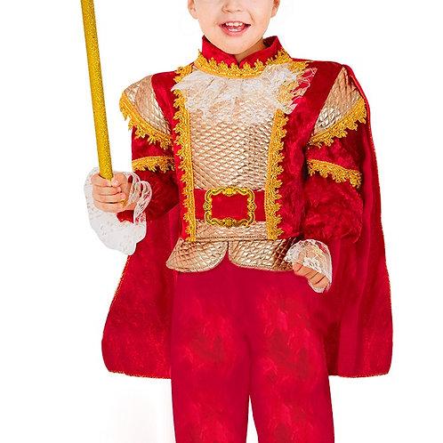 תחפושת נסיך הממלכה אדום
