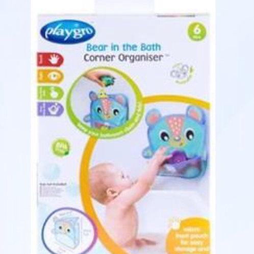 רשת פינתית לאחסון צעצועי אמבטיה