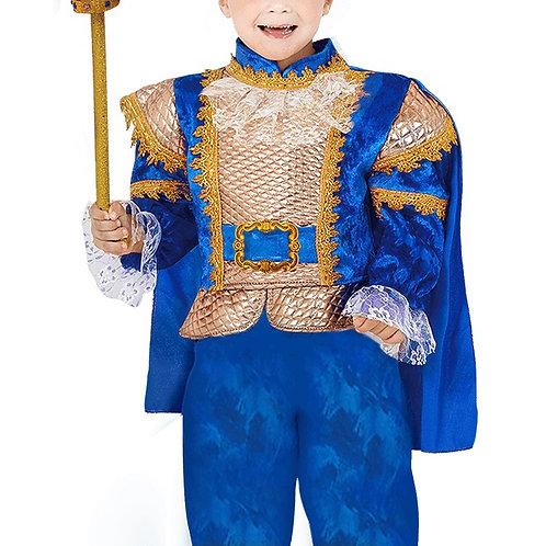 תחפושת נסיך הממלכה כחול