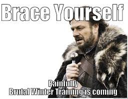 Important Information for All taking part in Winter Training