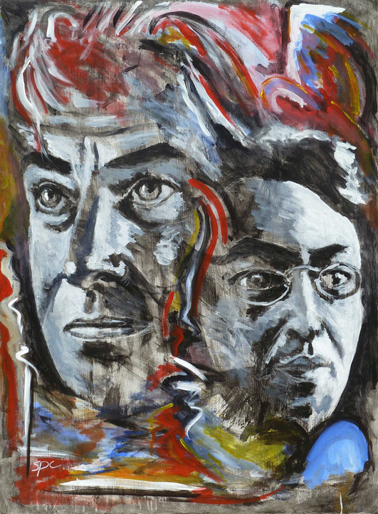 Under The Influence: A Portrait of Willem de Kooning and Wassily Kandinsky