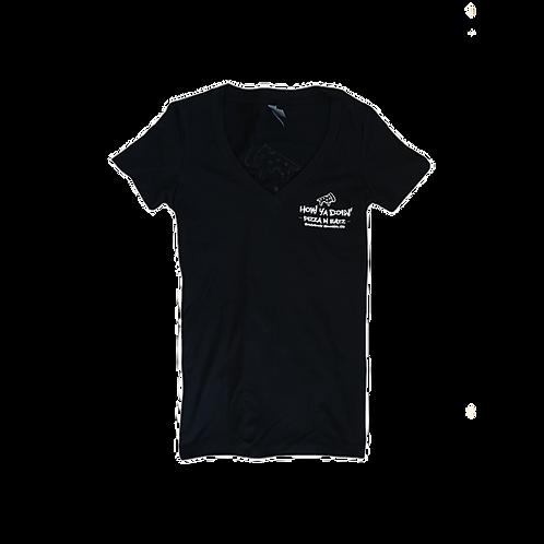 How Ya Doin' Logo T-Shirt - V-Neck