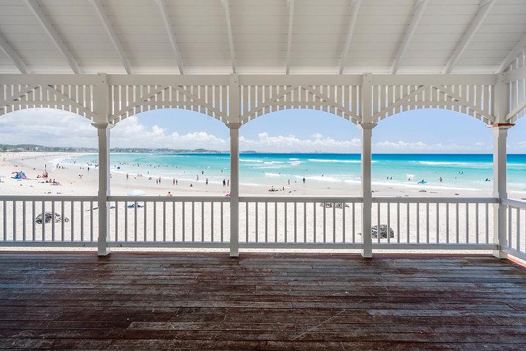 Kirra Beach hut on the Gold Coast, Queen