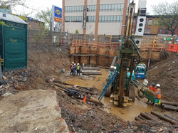 Drilling at E-Designated Site