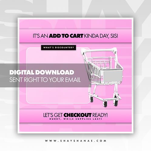 Cart (Pink) Premade [Digital Download]