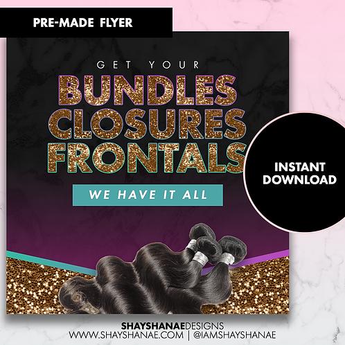 Pre-made Bundles Flyer #101 [Instant Download]