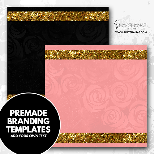 Pre-made Branding Templates [#002] [Instant Download]