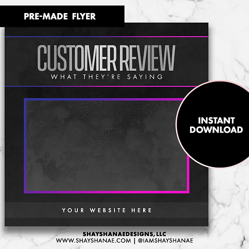Customer Review #1 [Instant Download]