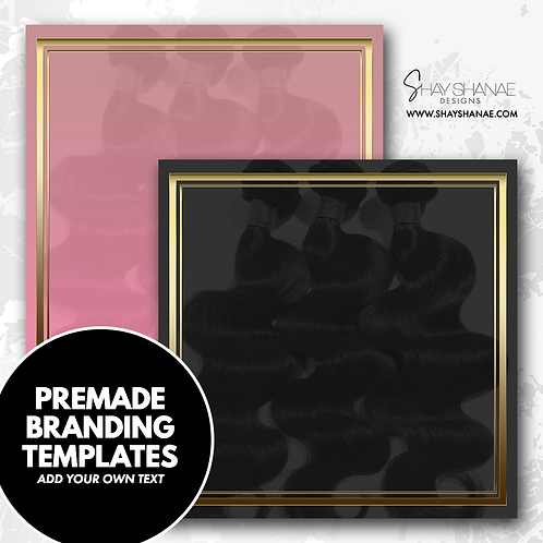 Pre-made Branding Templates [#006] [Instant Download]
