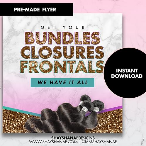 Pre-made Bundles Flyer #102 [Instant Download]