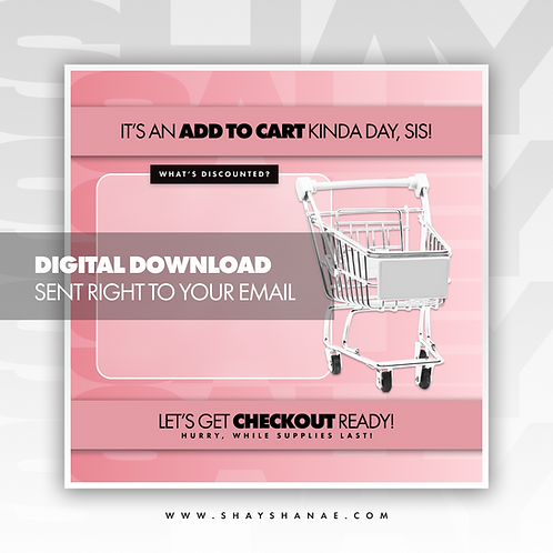 Cart (Blush) Premade [Digital Download]