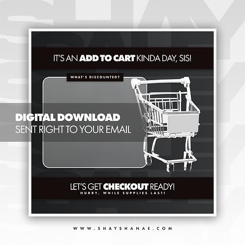 Cart (Black) Premade [Digital Download]