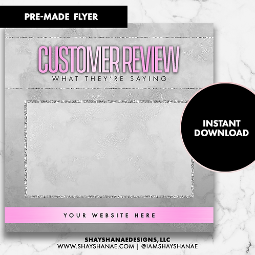 Customer Review #7 [Instant Download]