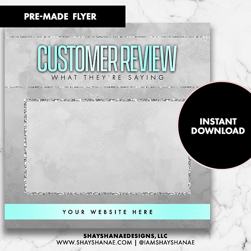 Customer Review #8 [Instant Download]