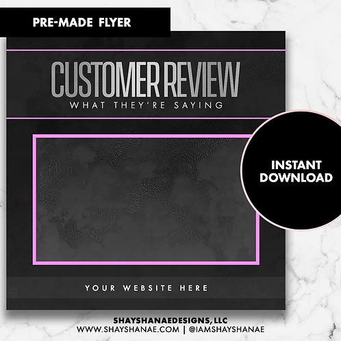 Customer Review #2 [Instant Download]