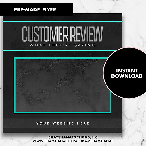 Customer Review #3 [Instant Download]
