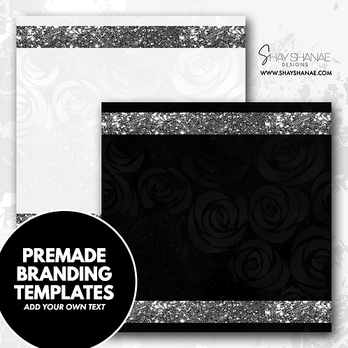 Pre-made Branding Templates [#003] [Instant Download]