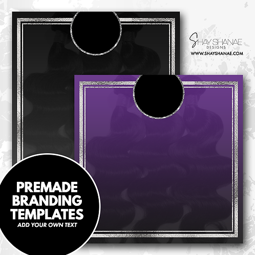 Pre-made Branding Templates [#007] [Instant Download]