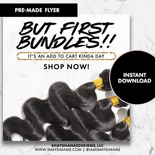 Pre-made Bundles Flyer #151 [Instant Download]