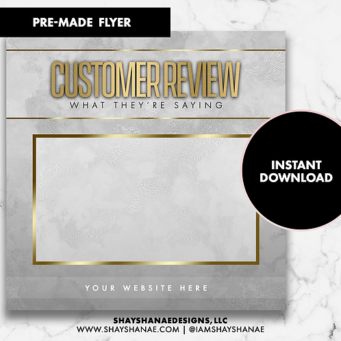 Customer Review #6 [Instant Download]