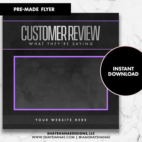 Customer Review #4 [Instant Download]