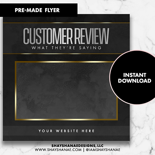 Customer Review #5 [Instant Download]