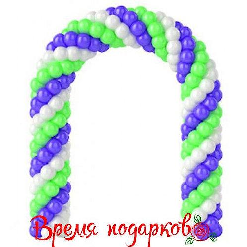 Арка из воздушных шаров (любой цвет)