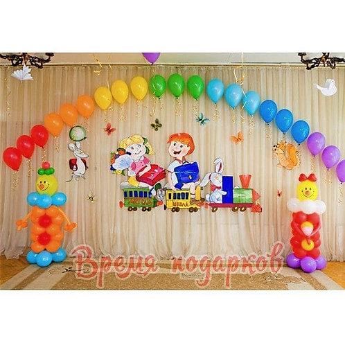 Оформление детских садов шарами №25