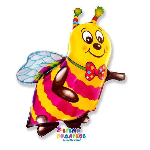 Фольгированный шар (38''/97 см) Фигура, Пчела