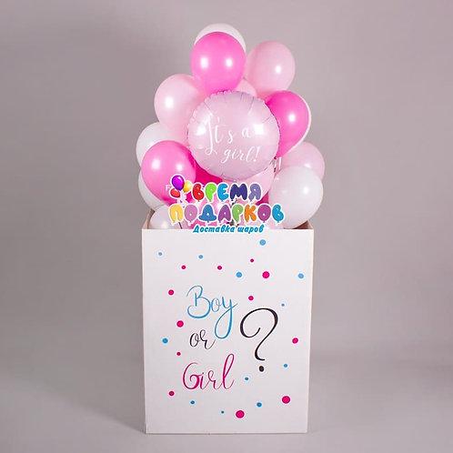 Коробка с шарами №33