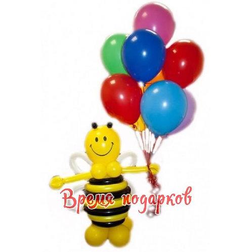 Пчелка с шариками