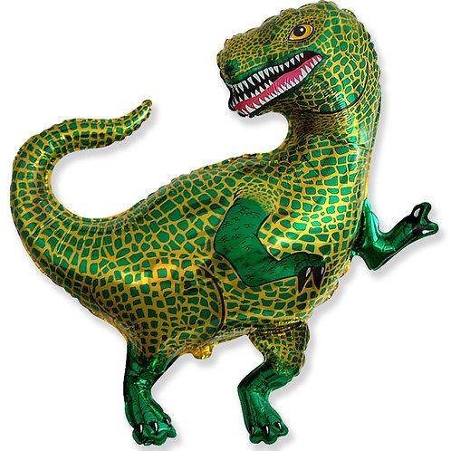 Шар (33''/84 см) Фигура, Динозавр Тираннозавр, 1 шт.