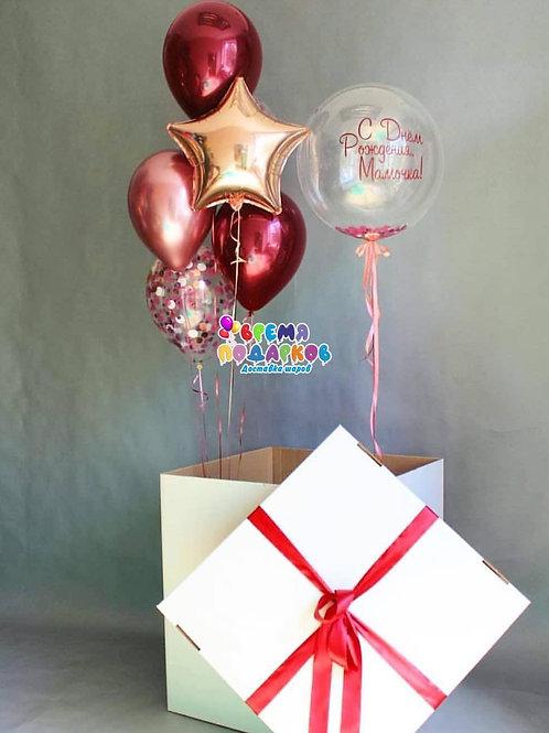 Коробка с шарами №11
