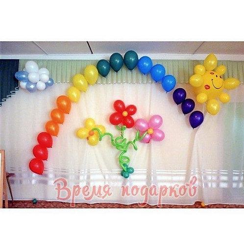 Оформление детских садов шарами №12