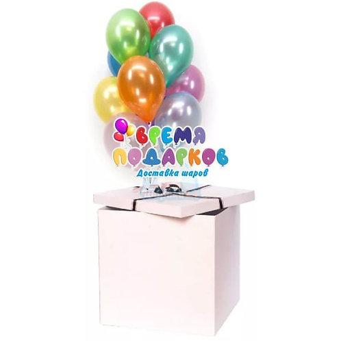 Коробка с шарами №37