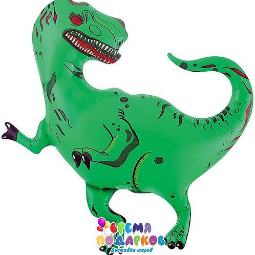 Шар (35''/89 см) Фигура, Динозавр Тираннозавр
