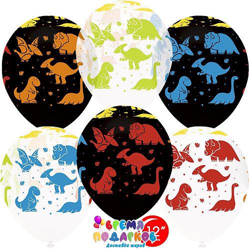 Гелиевые шары «Динозаврики»
