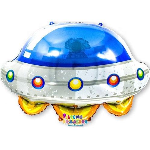 Шар (26''/66 см) Фигура, Космический корабль (НЛО), 1 шт.