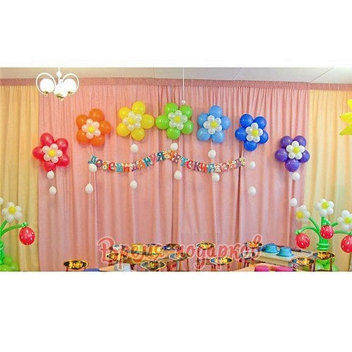Оформление детских садов шарами №10