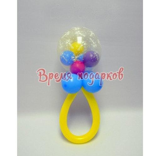 Погремушка из шаров