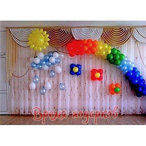 Оформление детских садов шарами №5