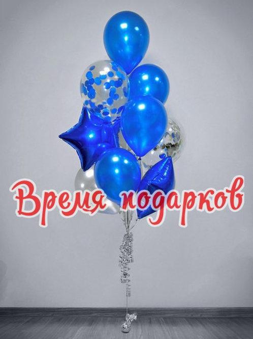 Композиция с гелиевыми шарами №116