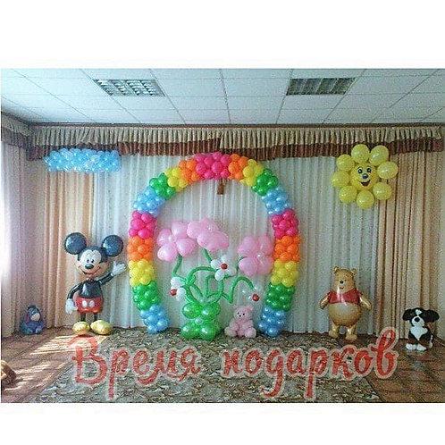 Оформление детских садов шарами №29