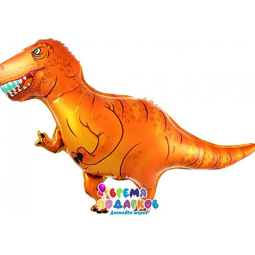 Шар (104 см) Фигура, Динозавр Ти-Рекс