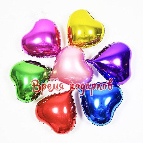 Гелиевые шары фольга сердце