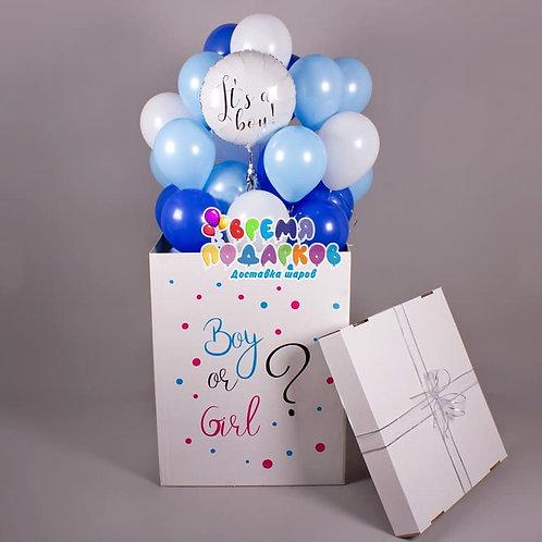 Коробка с шарами №26