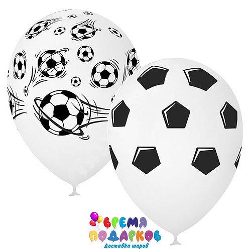 Гелиевые шары «Футбол», пастель, 5-сторонний