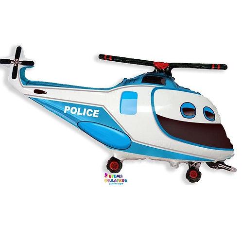 Шар (97 см) Фигура, Полицейский вертолет